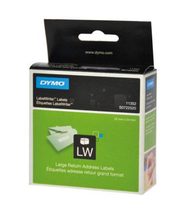 Etiquettes LabelWriter blanc, 25 x 54 mm (500 étiquettes) – DYMO