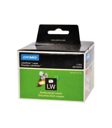 Etiquettes LabelWriter amovible, blanc, 57 x 32 mm (1000 étiquettes) – DYMO