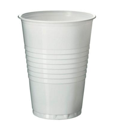 Gobelet polystyrène blanc 180 ml (100 pièces) – boissons chaudes