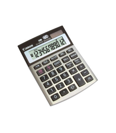 Calculatrice de poche Canon (LS-120TSG)