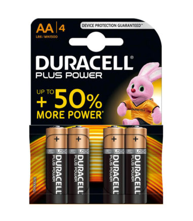 Piles Plus Power AA (4 pc.) – Duracell