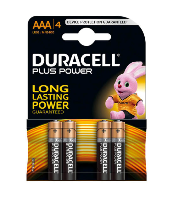 Piles Plus Power AAA (4 pc.) - Duracell