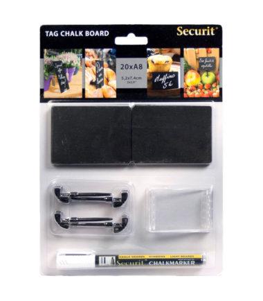 Securit petite ardoise A8 (20 pc.)