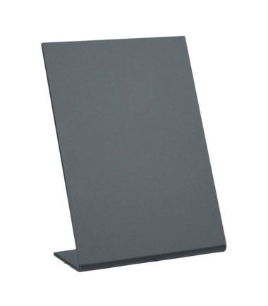 Securit ardoise de table L-forme, 3 pièces (A6)
