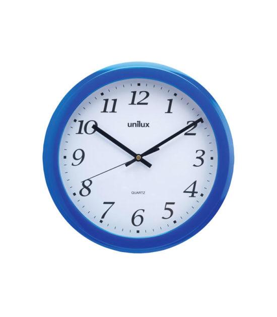 Horloge murale Rainbow bleu