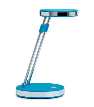 Lampe de bureau MAULpuck, LED (bleu)- MAUL
