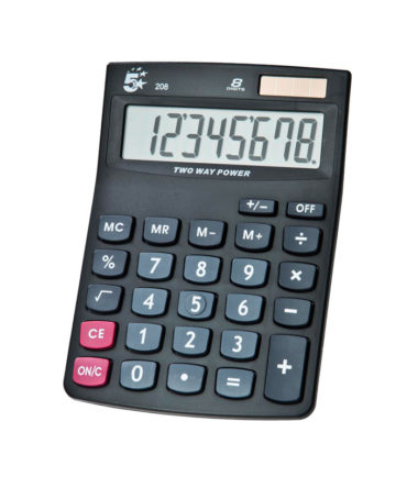 Calculatrice de poche 5 Star (Kc-DX120)