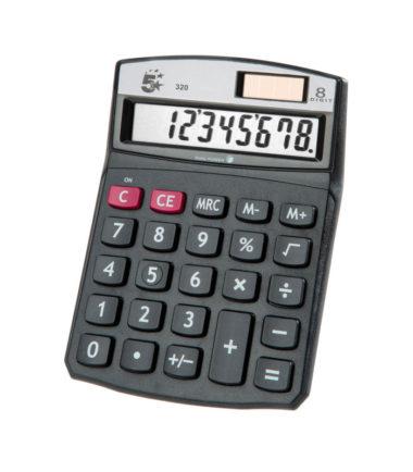 Calculatrice de bureau 5 Star 320 (Kc-760L)