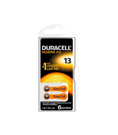 Pile auditive DA312 (6 pc.) – Duracell