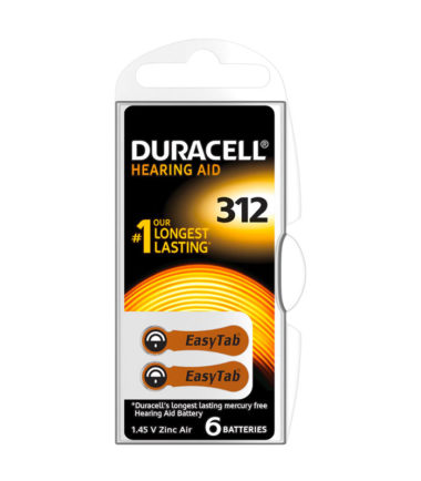 Pile auditive DA13 (6 pc.) – Duracell