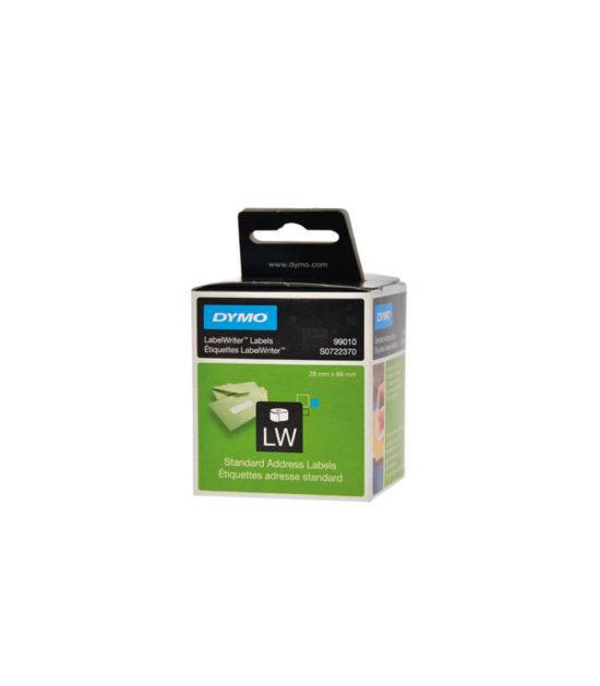 Etiquettes LabelWriter blanc, 89 x 28 mm (260 étiquettes) – DYMO