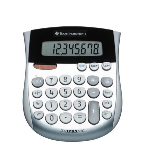 Calculatrice de bureau Texas Instruments (TI-1795 SV)