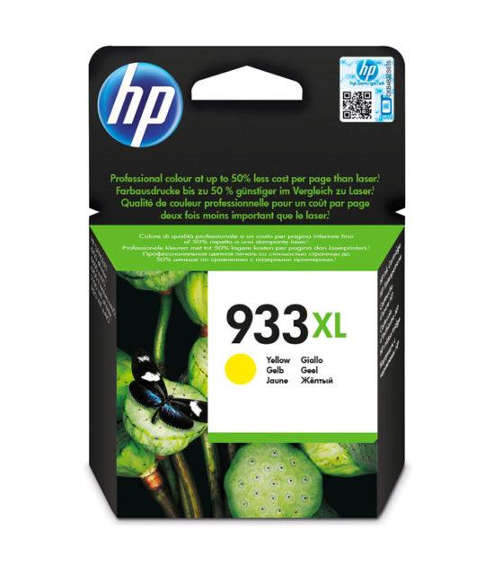 HP cartouche d'encre 933XL jaune