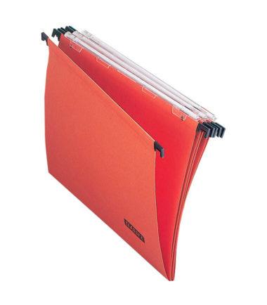 Dossiers suspendus pour tiroirs, fond en V, entraxe 330 mm (25 pc.) – Class'ex