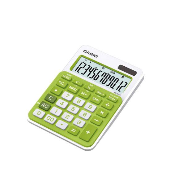 Calculatrice de bureau Casio (MS-20NC) vert