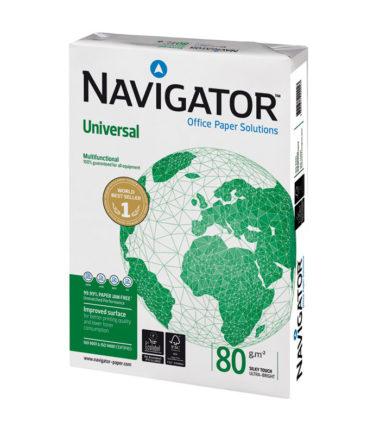Papier d'impression A4, 80 g (5 rames de 500 feuilles) – Navigator Universal