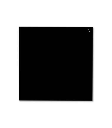 Tableau en verre magnétique noir (100x100) - NAGA